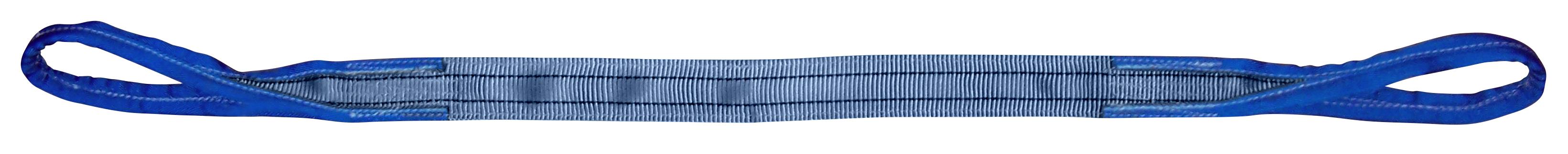 Hebeband 2 -lagig, vollverstärkte Schlaufen, Tragfähigkeit 4 Tonnen