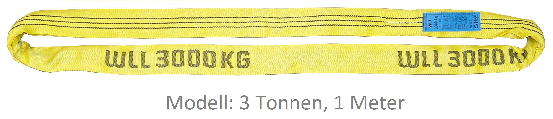 Rundschlinge Performance+ Tragfähigkeit 2 Tonnen