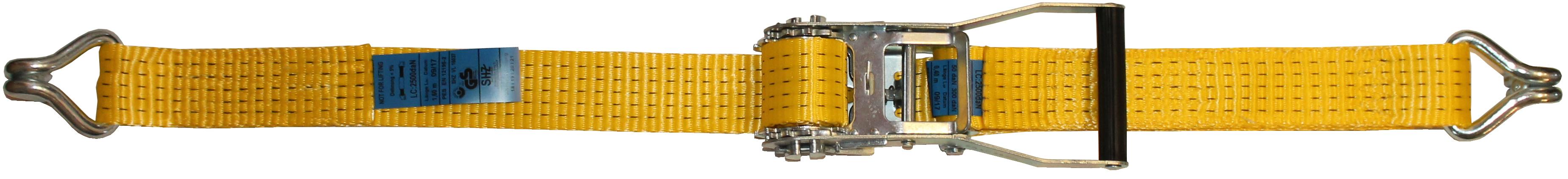 Ratschengurt Cargo 50 mm, 4.000 daN zweiteilig