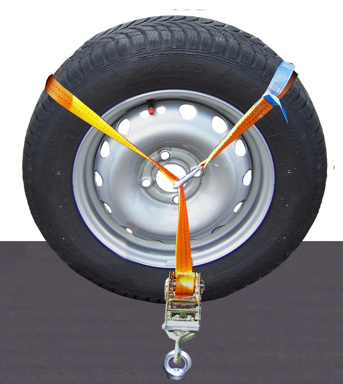 Radsicherungsgurt Ring 35 mm