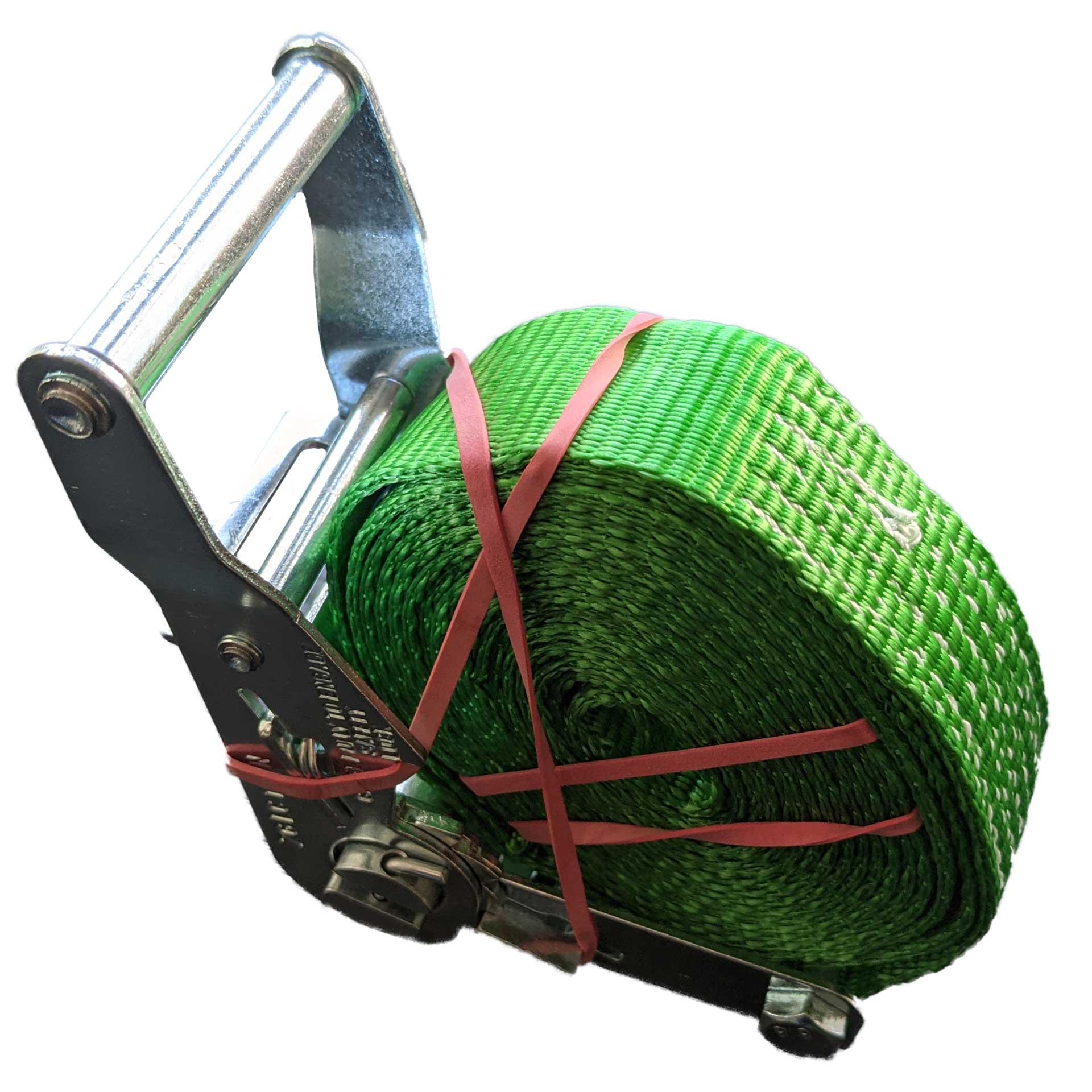 Restposten - Ratschengurt 35 mm grün