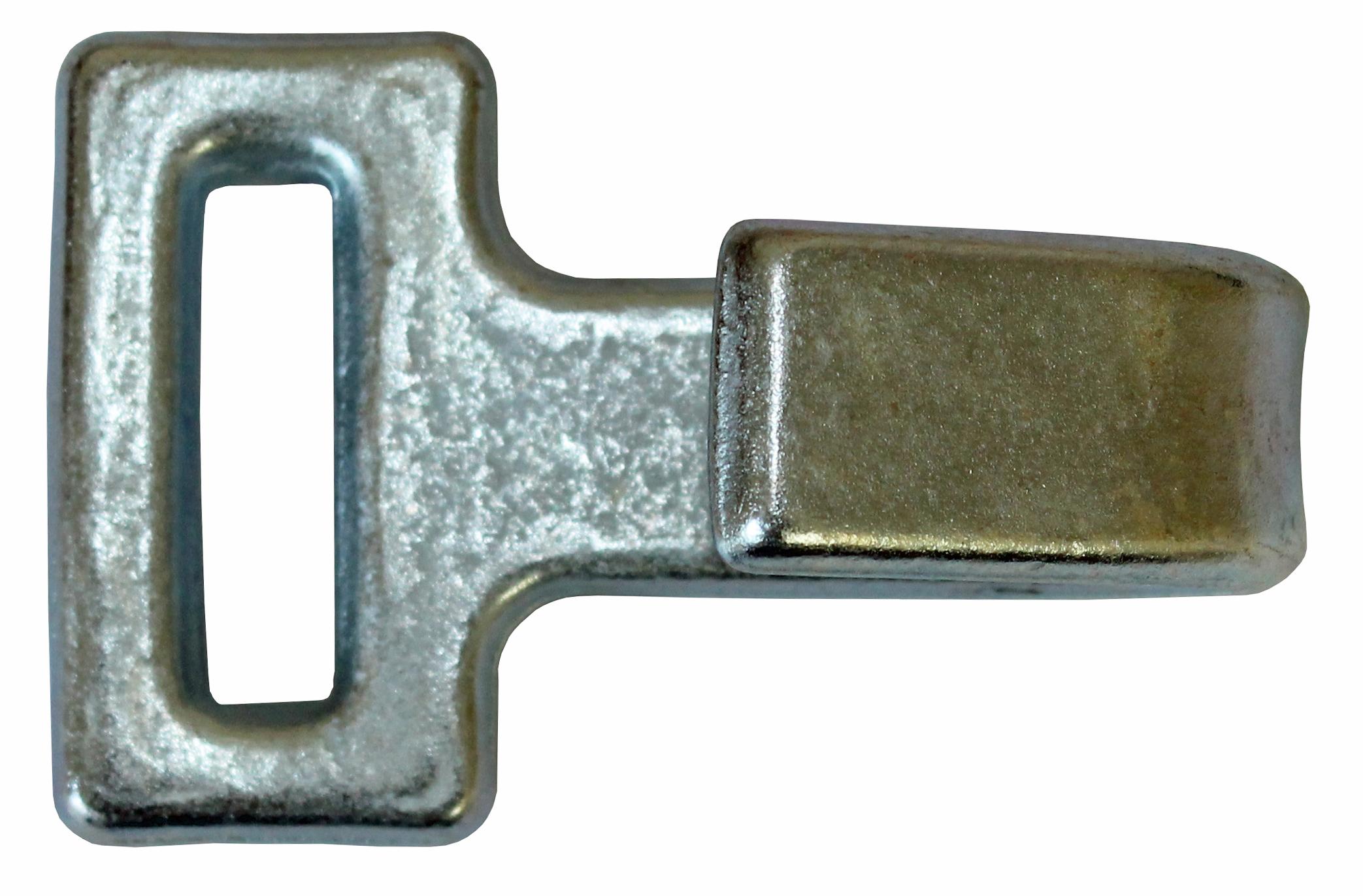 Flachhaken für Bandbreite 50 mm
