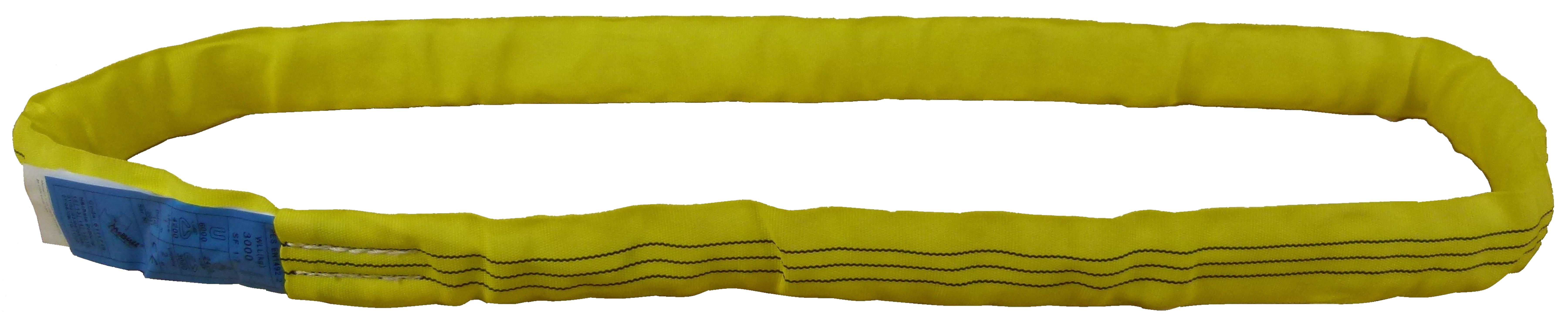 Rundschlinge mit Einfachmantel aus Polyester